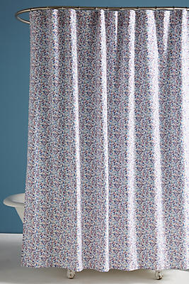 Liberty For Anthropologie Bonnie Bloom Shower Curtain Anthropologie