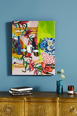 Slide View: 1: Tablescape Wall Art