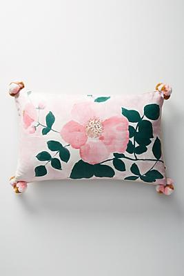 Slide View: 1: Bonnie and Neil Tea Rose Pillow