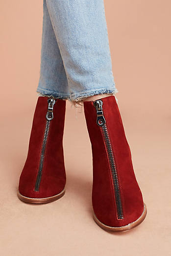 Matiko Mylvia Zipped Ankle Boots