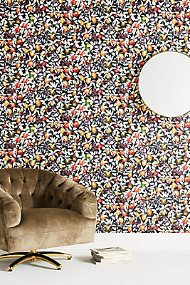Slide View: 1: Liberty London Fruit Billett Wallpaper