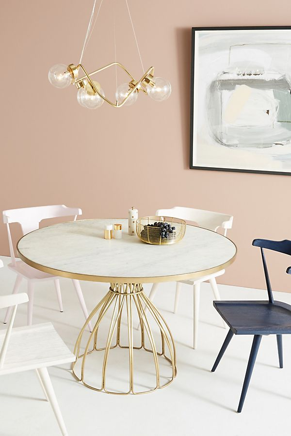 Slide View 1 Seaford Pedestal Dining Table