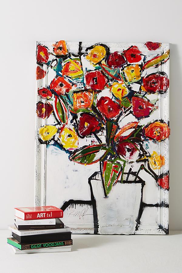 Slide View: 1: Parisian Flora Wall Art