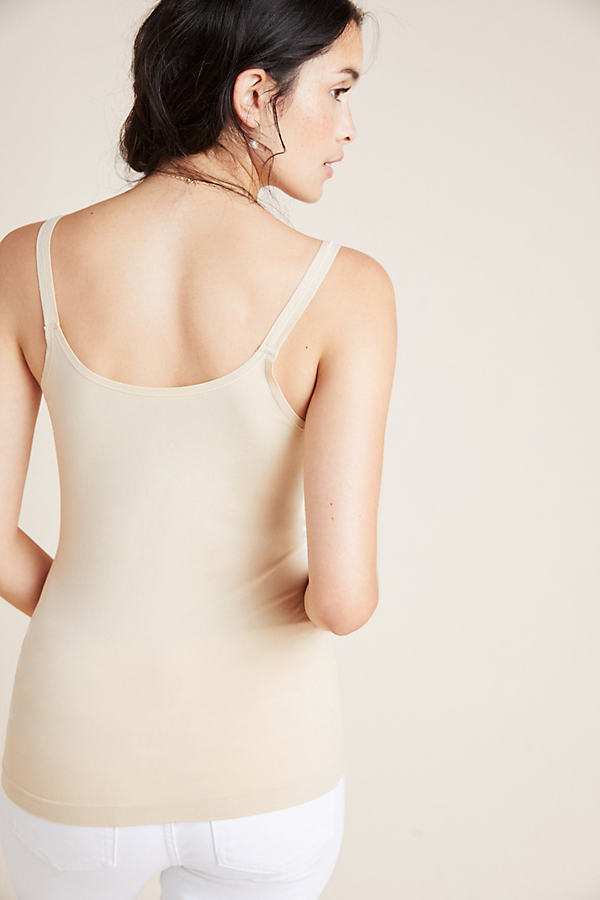 Seamless Layering Camisole - White, Size S