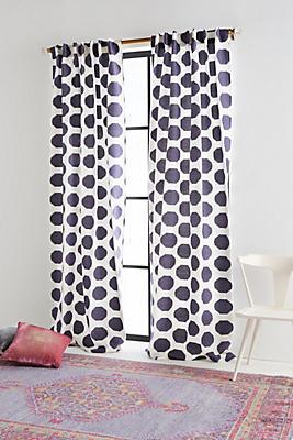 Slide View: 1: Jacquard Herringbone Curtain