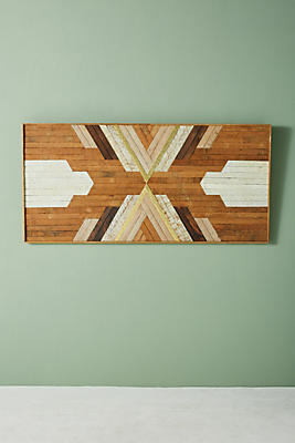 Slide View: 1: Kato Marquetry Wall Art
