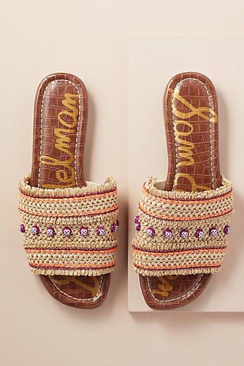 Sandales plates métalliséesSuperga