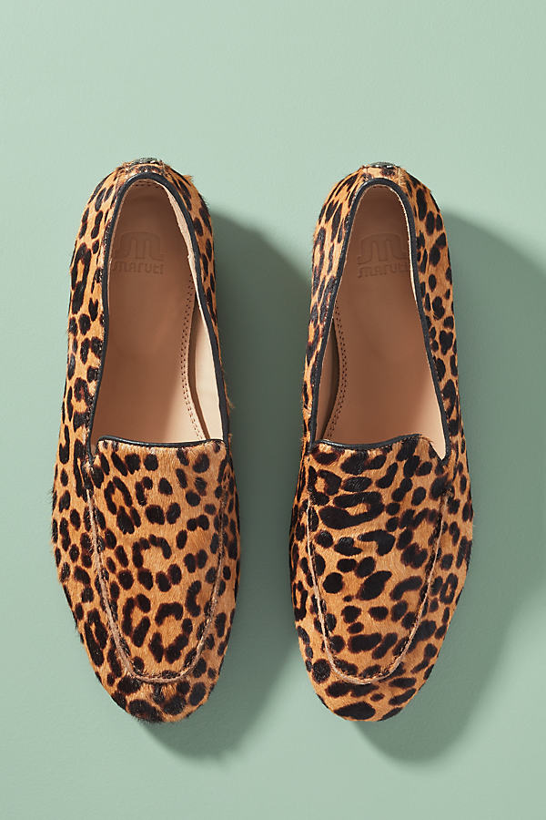 Maruti Leopard-Print Slip-on Flats - Assorted, Size 37
