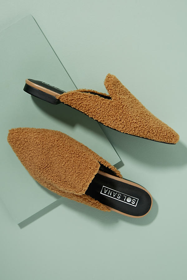 Sol Sana Teddy Loafer - Brown, Size 41