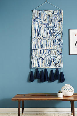 Slide View: 1: Mooncatcher Woven Wall Art