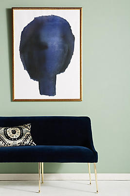 Slide View: 1: Blue Head Wall Art