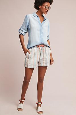 Slide View: 1: Myrtle Striped Shorts