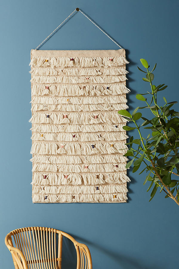 Woven Confetti Wall Art - Neutral Motif