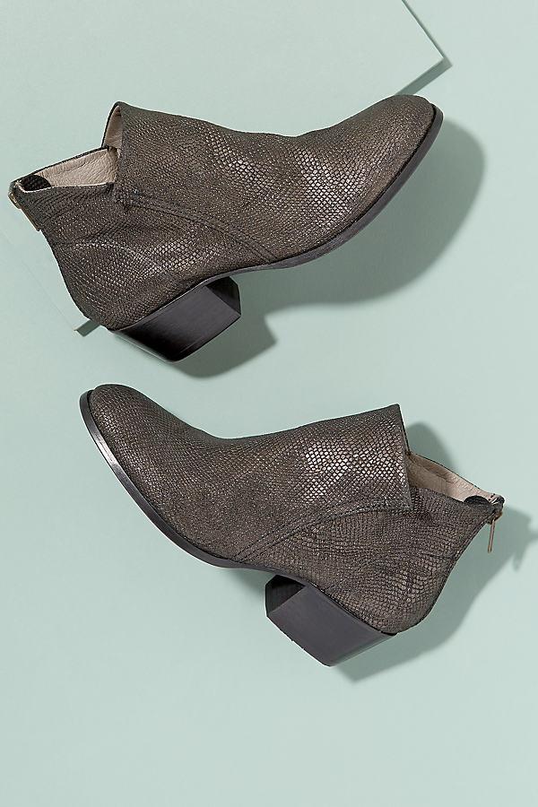 Hudson Metallic Boots - Black, Size 39