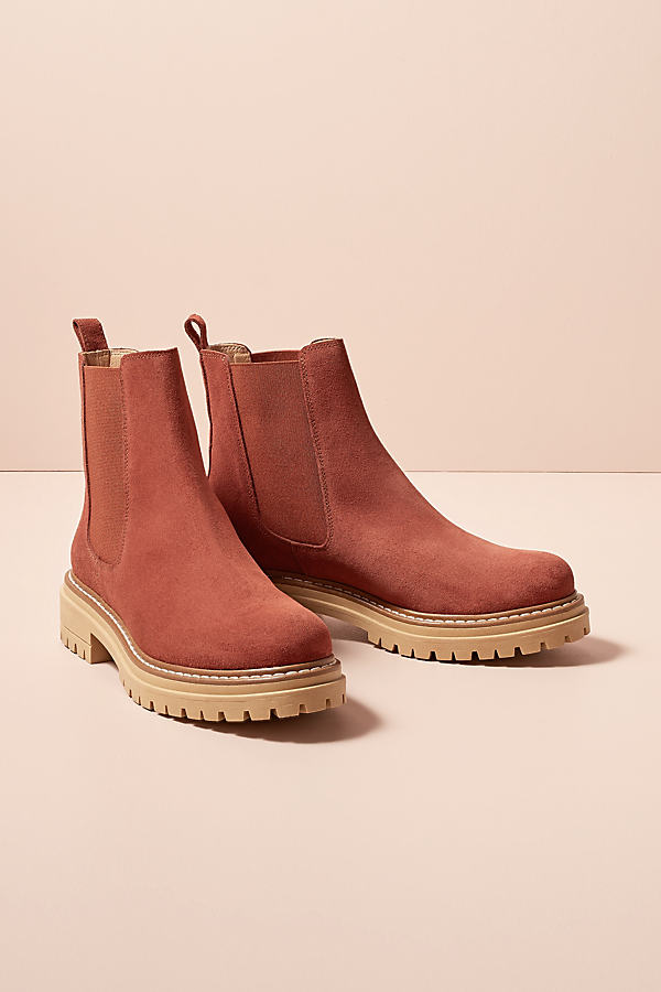 Rhia Suede Chelsea Boots