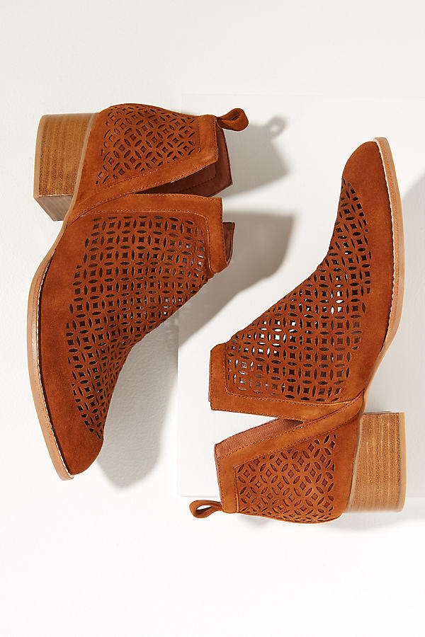 Jeffrey Campbell Tagloni Booties - Brown, Size Eu 37