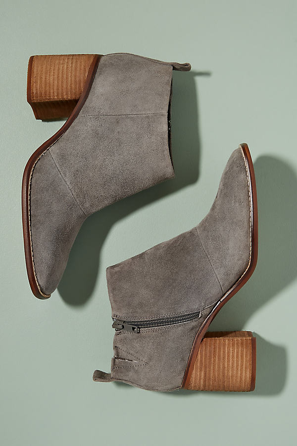 Sol Sana Suede Boot - Grey, Size 38