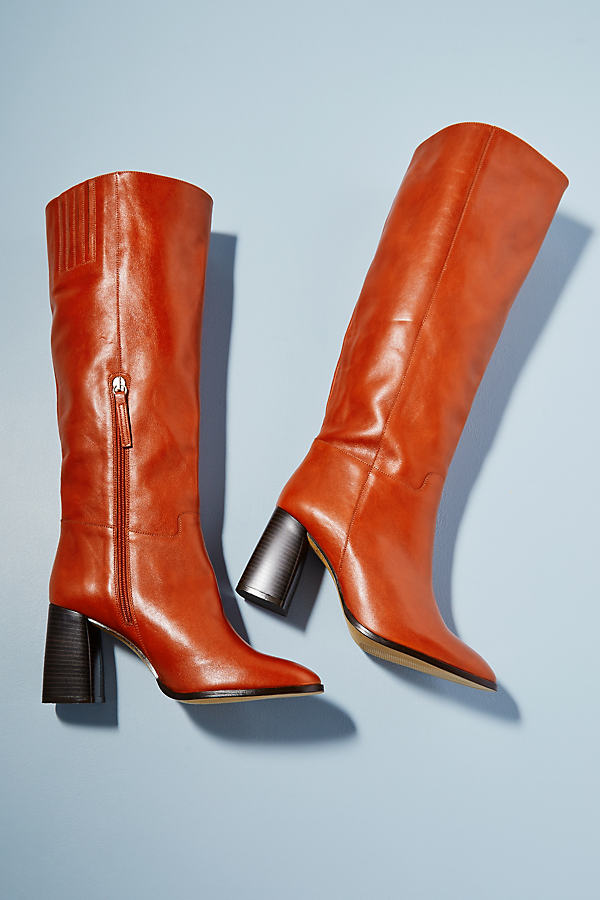 Astra Leather High Boots