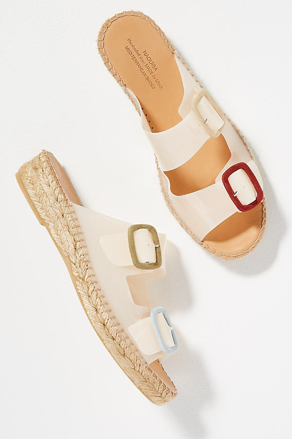 Buckle Espadrille Sandals