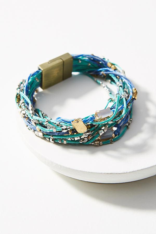 Rita Beaded Bracelet - Turquoise