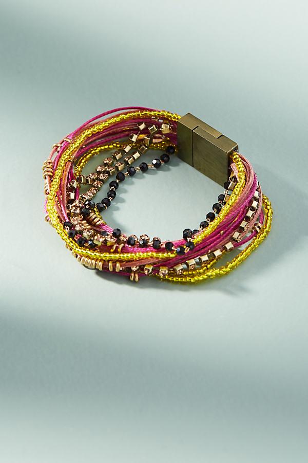Rita Beaded Bracelet - Lilac