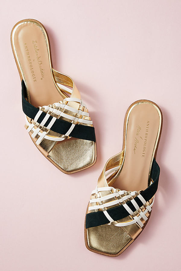 Alice Archer x Anthropologie Leather Sandals
