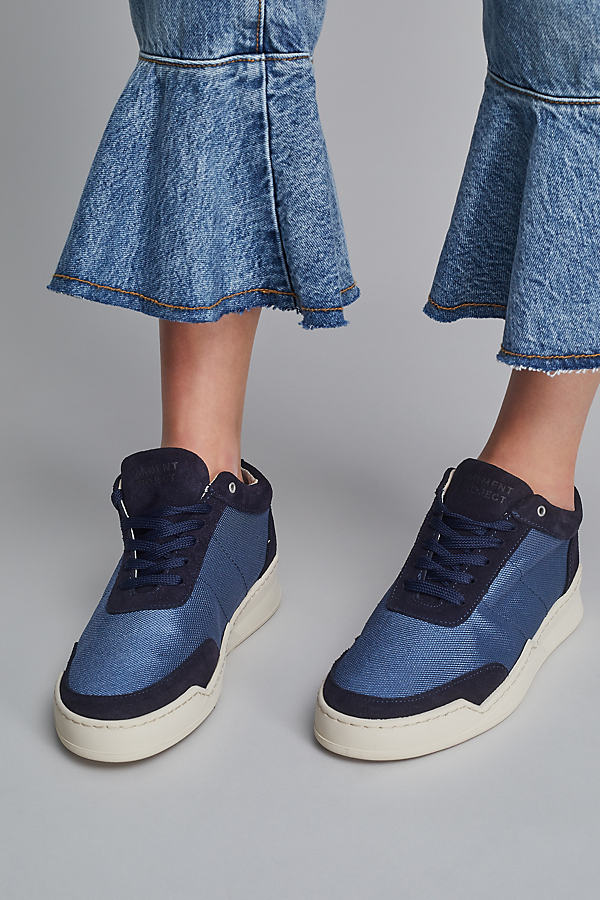 Karla Lace-up Trainers - Blue, Size 40