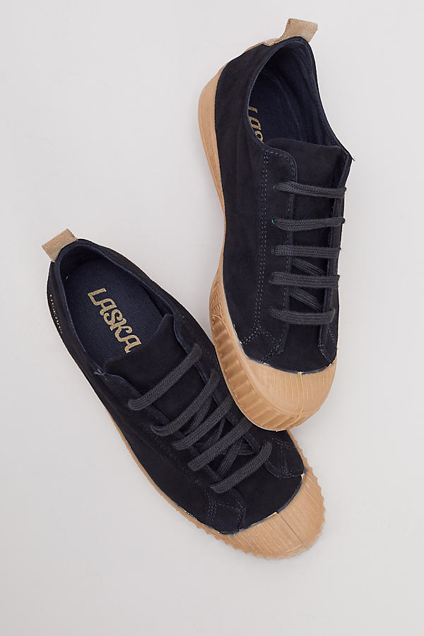Helmi Suede Trainers - Black, Size 40