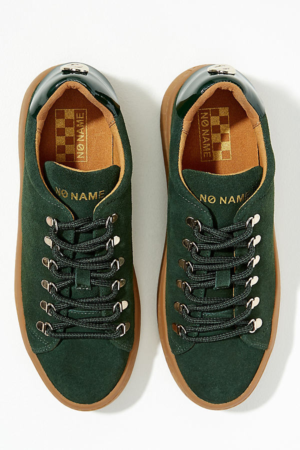 No Name Hiking Suede Trainers - Green, Size 36