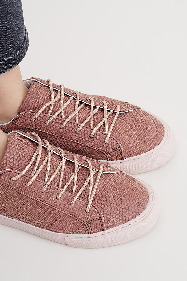 Slide View: 4: Rakel Snake Effect Trainers