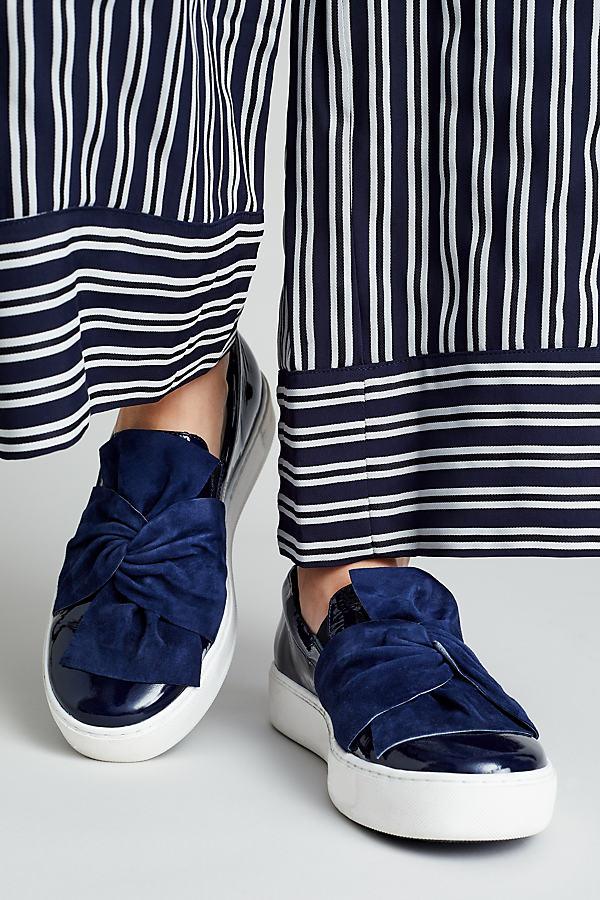 Kenya Patent Trainers - Blue, Size 38