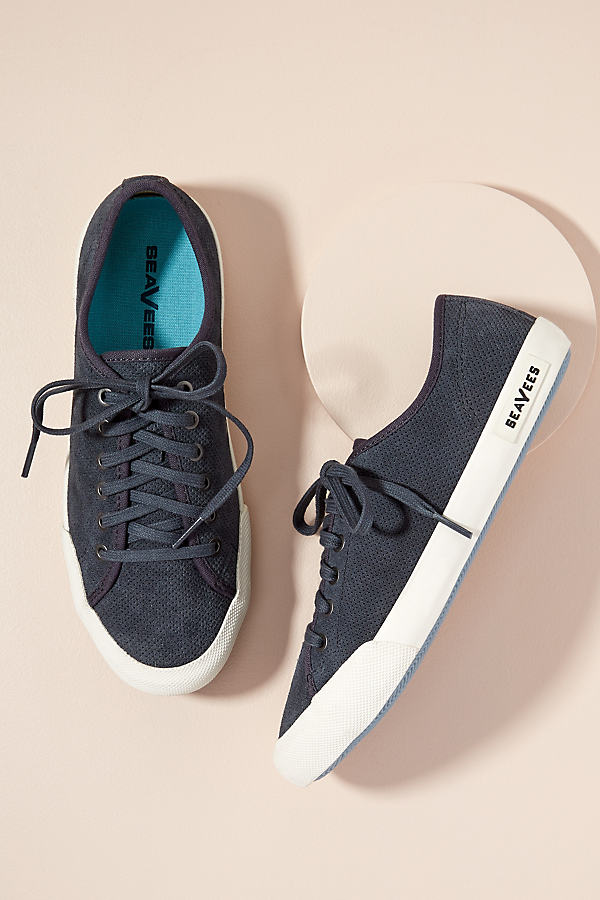 SeaVees Night Trainers - Blue, Size 40
