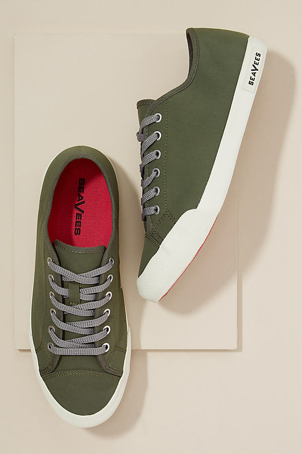 SeaVees Army Trainers - Green, Size 40