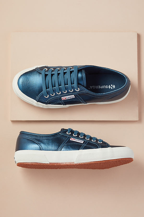 Superga Legion Trainers - Blue, Size 36