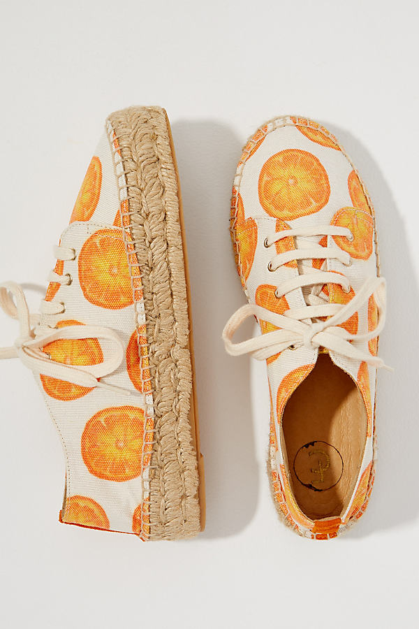 Fabienne Chapot Printed-Espadrille Trainers - Assorted, Size 37