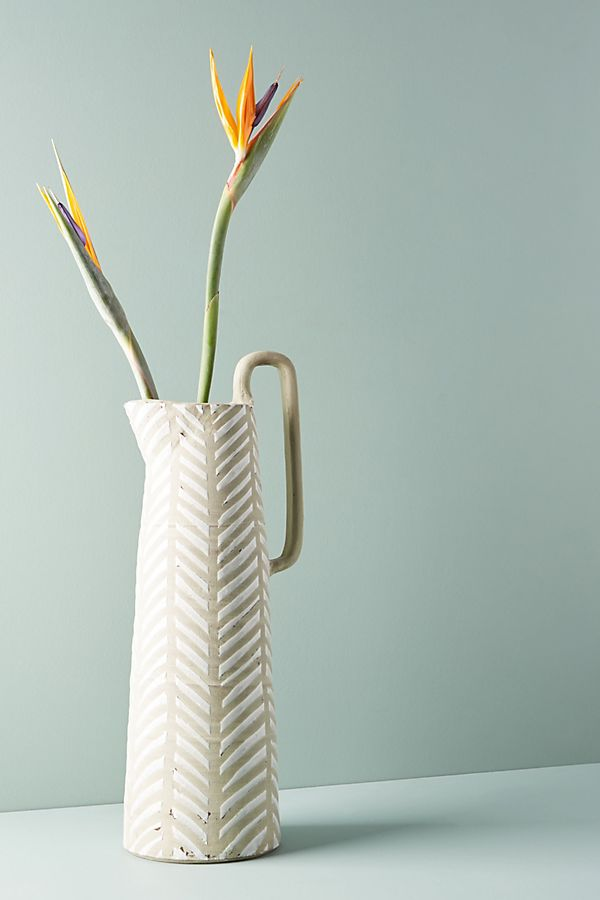 Lineal Pitcher Vase Anthropologie
