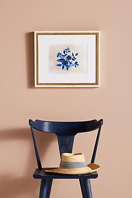 Slide View: 1: Indigo Bouquet Wall Art