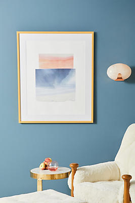 Anthropologie Wall Art broad strokes 3 wall art | anthropologie