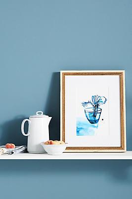 Slide View: 1: Blue Vase Wall Art