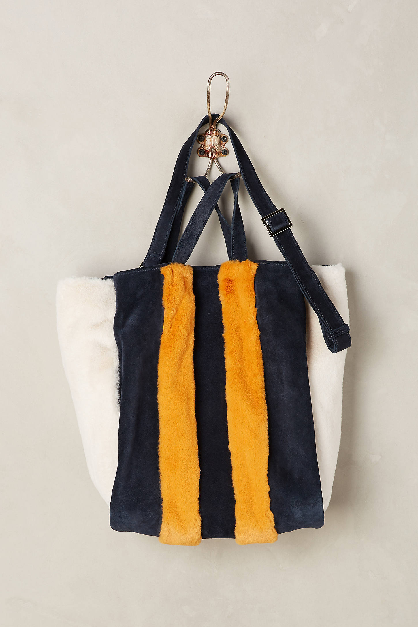 Sally Striped Tote Bag