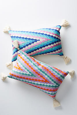 Slide View: 4: Archive New York Almolonga Zig-Zag Pillow