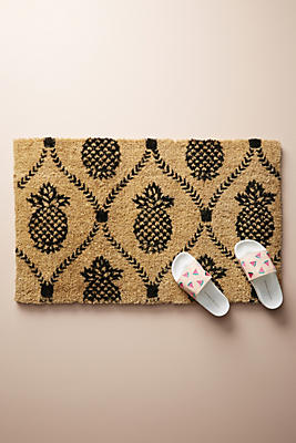 Slide View: 1: Pineapple Doormat