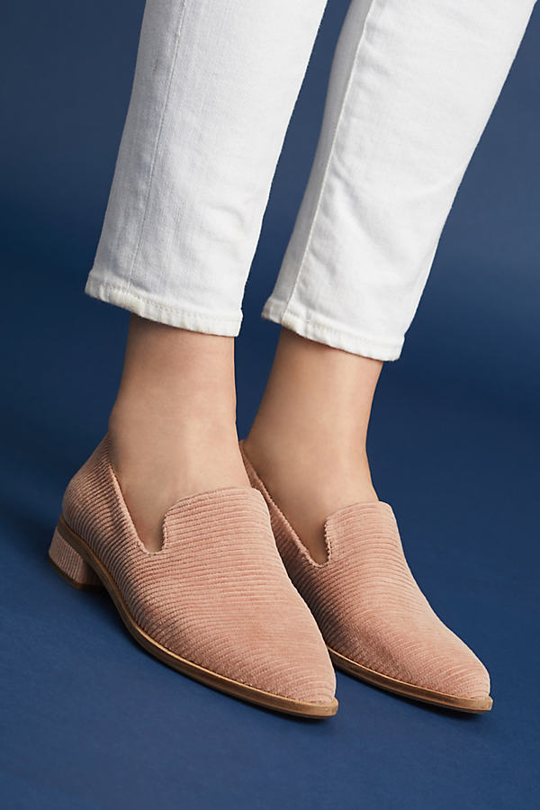 Arbor Corduroy Loafers - Pink, Size Eu 40