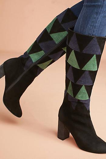 Farylrobin Frances Corduroy Inset Boots