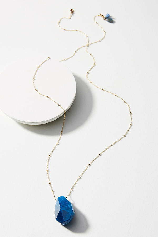 Slide View: 2: Skipping Stone Necklace