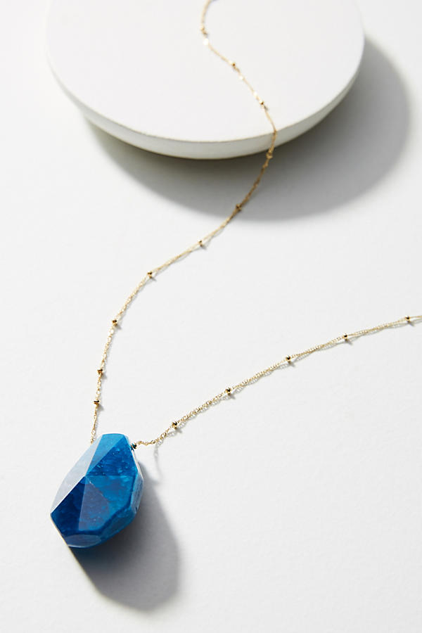 Slide View: 1: Skipping Stone Necklace