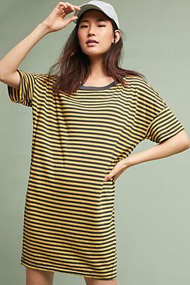 Slide View: 1: Stateside Striped T-Shirt Dress