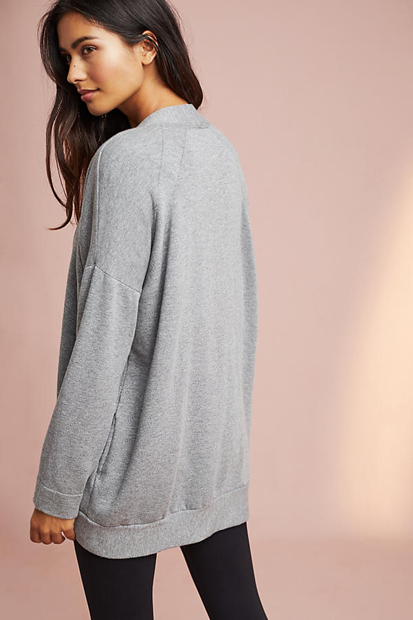 Stateside Fleece Cardigan | Anthropologie