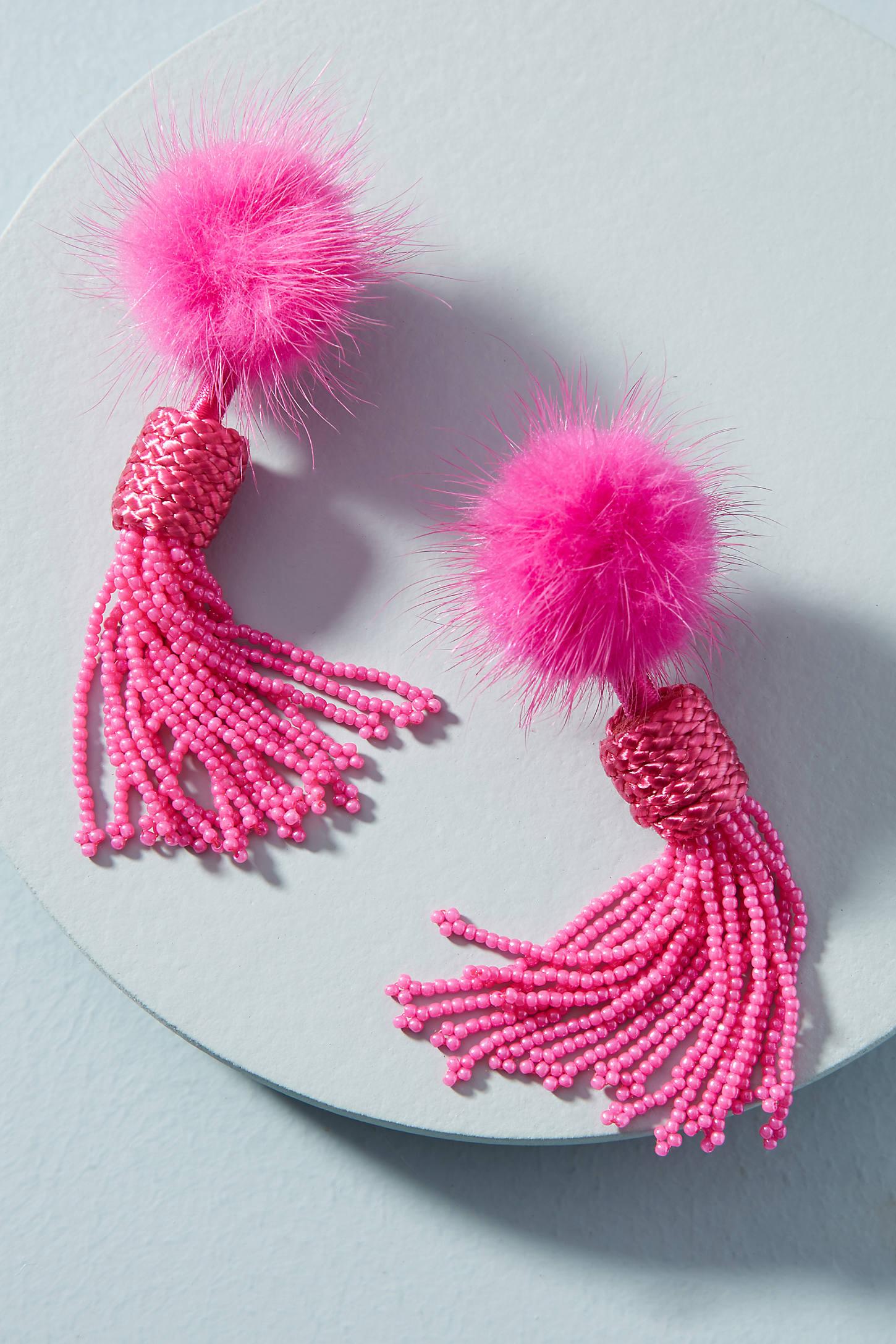 Mini Jackie Beaded Drop Earrings