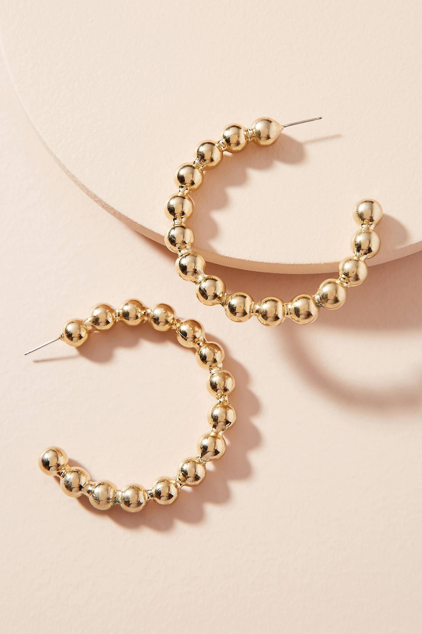 Awna Hoop Earrings